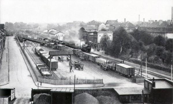 H XVI_E IV 4 Bahnanlagen Nordbahnhof ca. 1930 (F2)