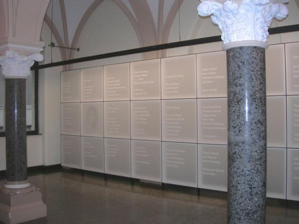 Erinnerungsstätte im Rathaus